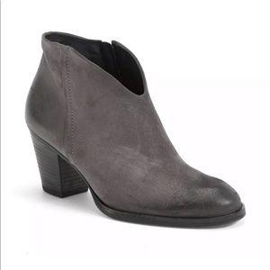 Paul Green Delgado ankle boot truffle leather EUC